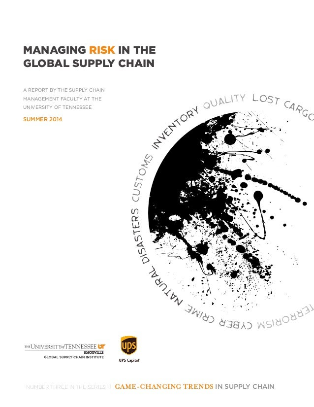 global supply chain risk management Managing risk from beginning to end risk management in the supply chain has become increasingly important as companies both large and small seek to extend their global reach enterprises entering new markets often need to form new supplier relationships, engage with.