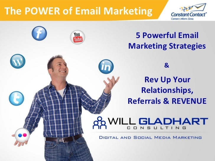 The POWER of Email Marketing                        5 Powerful Email                       Marketing Strategies           ...