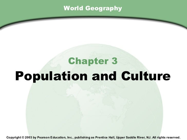 Chapter 3 , Section                                        World Geography                                           Chapt...
