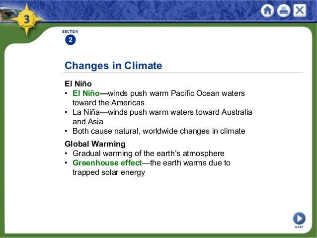 Chapter 3 – El Nino Worksheet