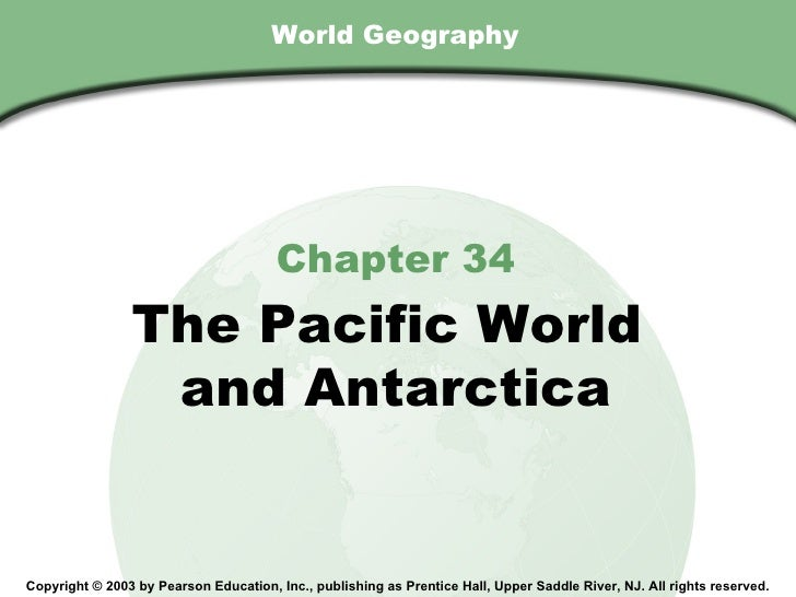 Chapter 34, Section                                        World Geography                                         Chapter...