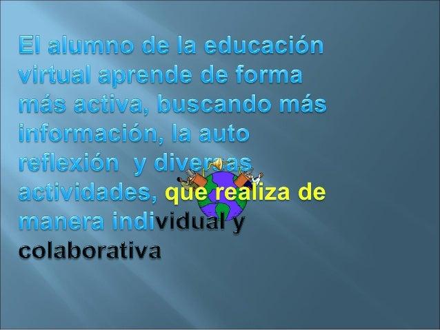 EL FUTURO DE LA EDUCACIÓN VIRTUAL