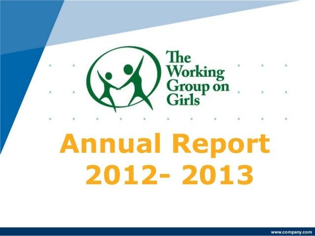 www.company.comAnnual Report2012- 2013