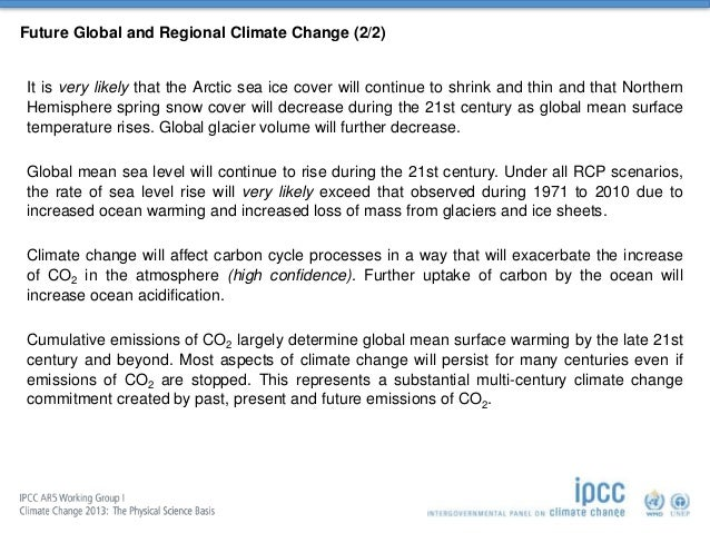 climate change 2013 the physical science basis pdf