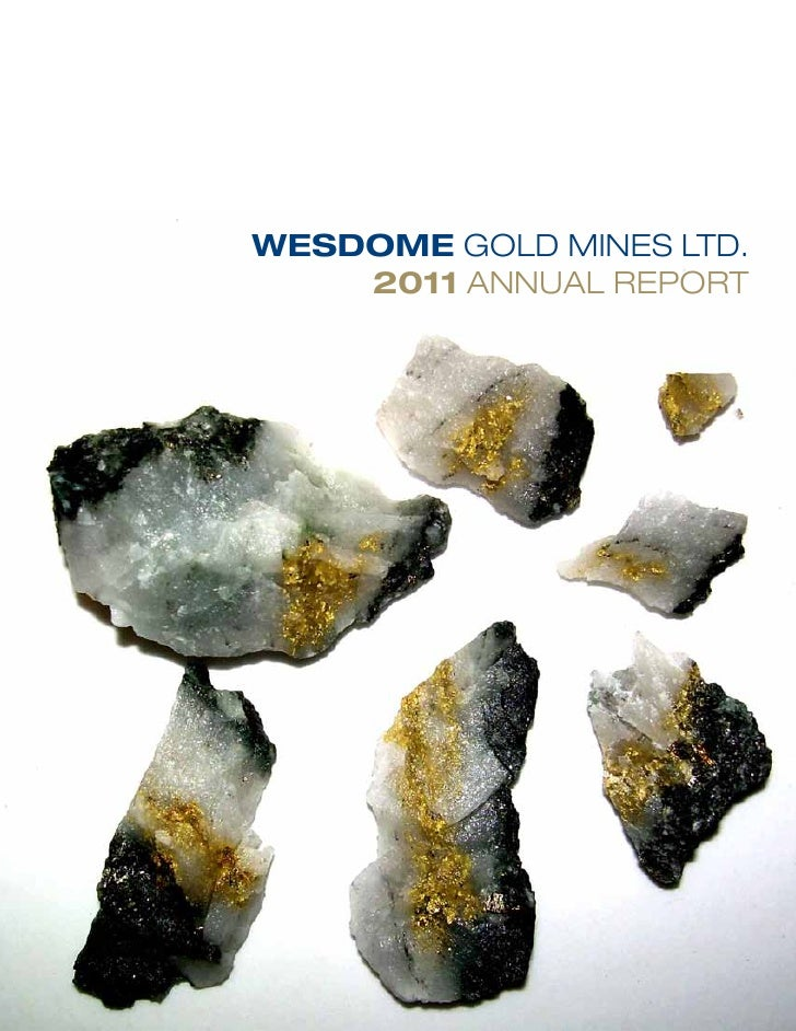 WESDOME GOLD MINES LTD.    2011 ANNUAL REPORT
