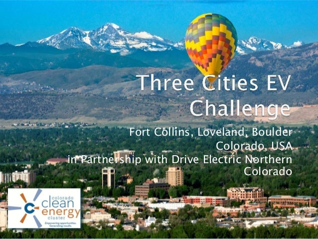 Fort Collins, Loveland, Boulder Colorado, USA in Partnership with Drive Electric Northern Colorado