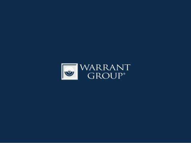Warrant Group Il portale dedicato alle Start Up Luca Onnis CIO - Warrant Group Srl