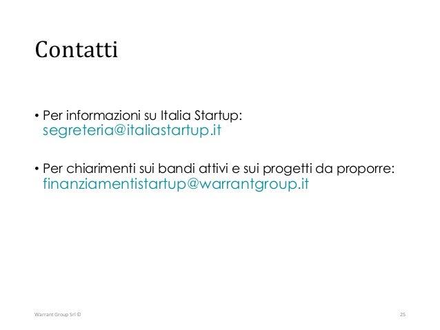 Warrant Group S.r.l. Corso Mazzini, 11 42015 Correggio (RE) Tel +39 0522 7337 www.warrantgroup.it