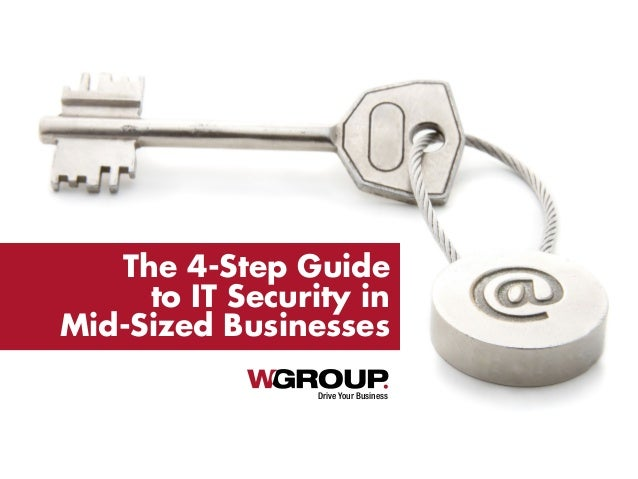 Drive Your Business The 4-Step Guide to IT Security in Mid-Sized Businesses