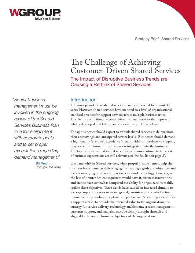 The challenge of achieving customer driven shared services introduction the concept and use of shared services have been around for almost 30 years publicscrutiny Gallery