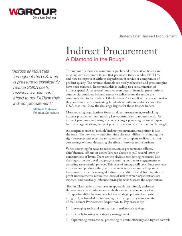 indirect procurement Find out where procurement professionals in the nordic and dach should focus their attention and their top priorities for the year ahead.
