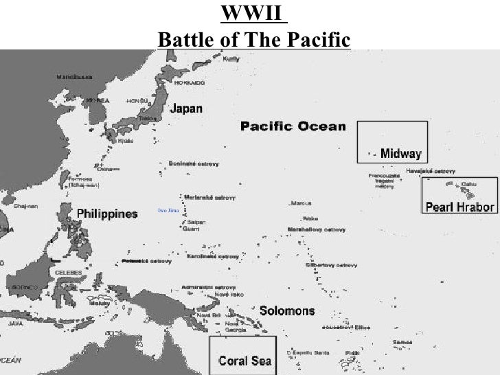 WWII Pacific Battles. WWIIBattle Of The PacificIwo Jima ...
