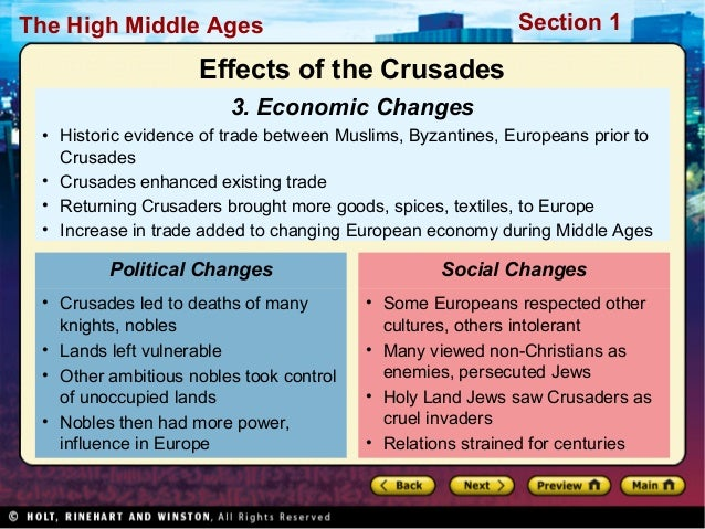 9 Factors that Caused the First Crusade
