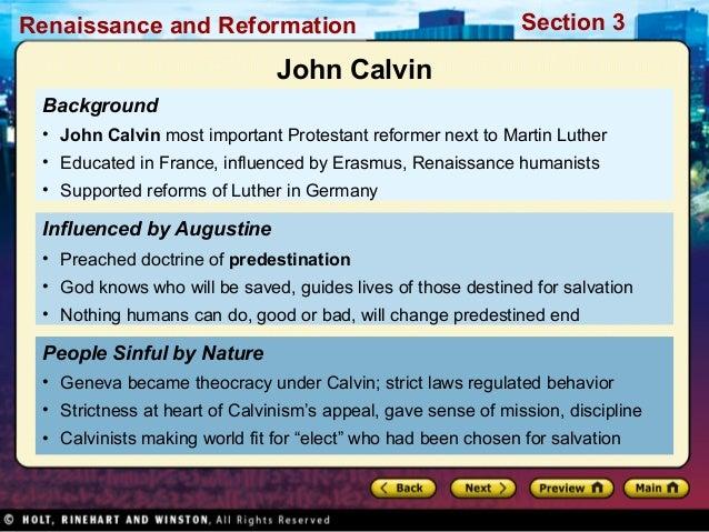 john calvin theocracy