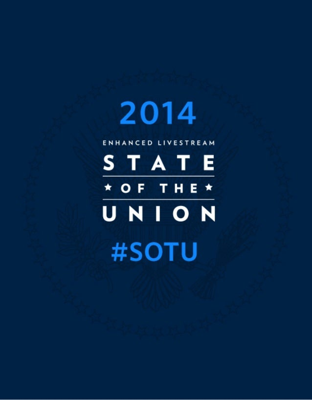 White House State of the Union 2014 Enhanced Graphics