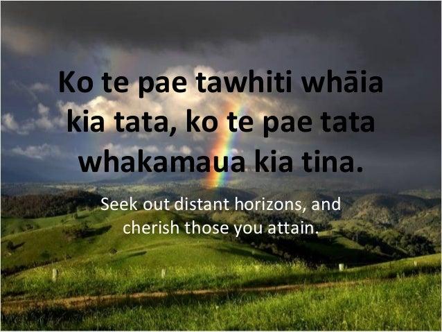 No notes for slide: https://www.slideshare.net/robynf/whakatauki