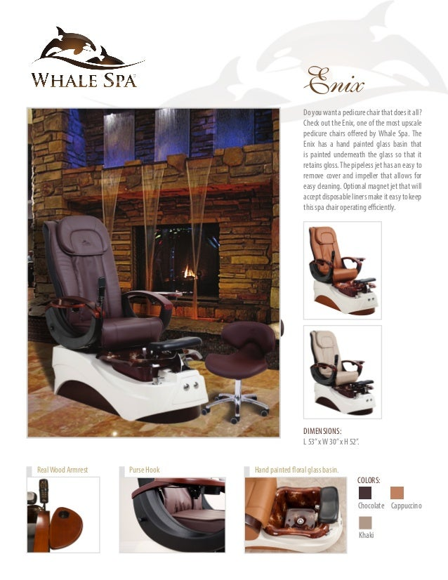 ... FoldableTrays; 8. Salon Furniture AtWhale Spa ...  sc 1 st  SlideShare & Whale Spa 2016 Collection Catalog
