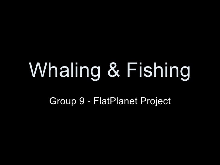 Whaling & Fishing Group 9 - FlatPlanet Project