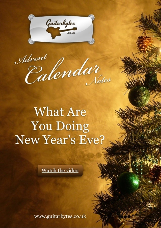 What Are You Doing New Year\'s Eve?