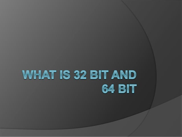 Introduction  As the number of bits increases there are two important benefits.  More bits means that data can be proces...