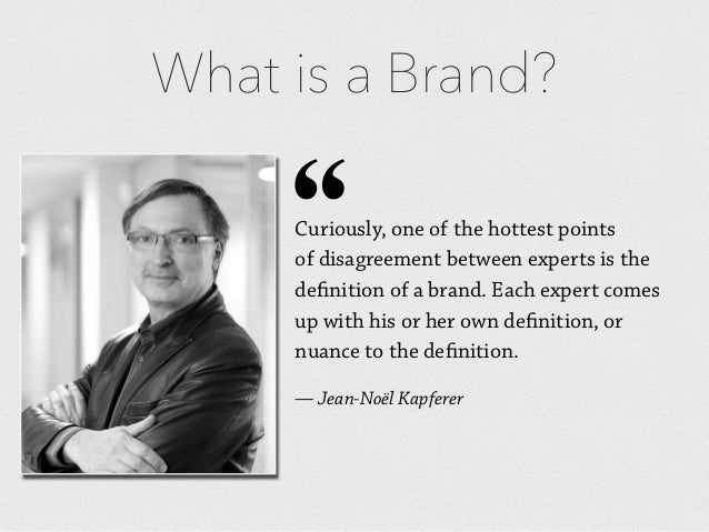 What is a brand? 7 definitions of Branding