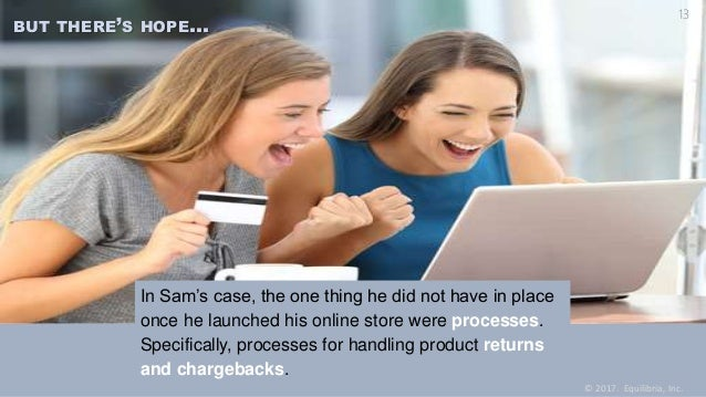 In Sam's case, the one thing he did not have in place once he launched his online store were processes. Specifically, proc...