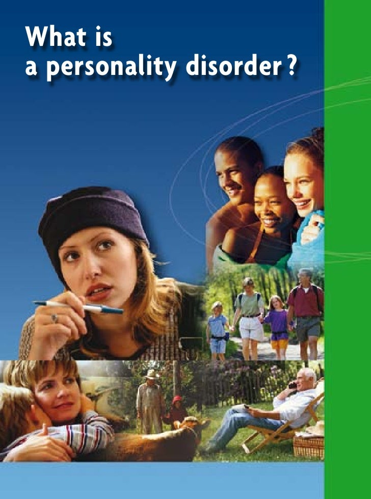 What is a personality disorder ?