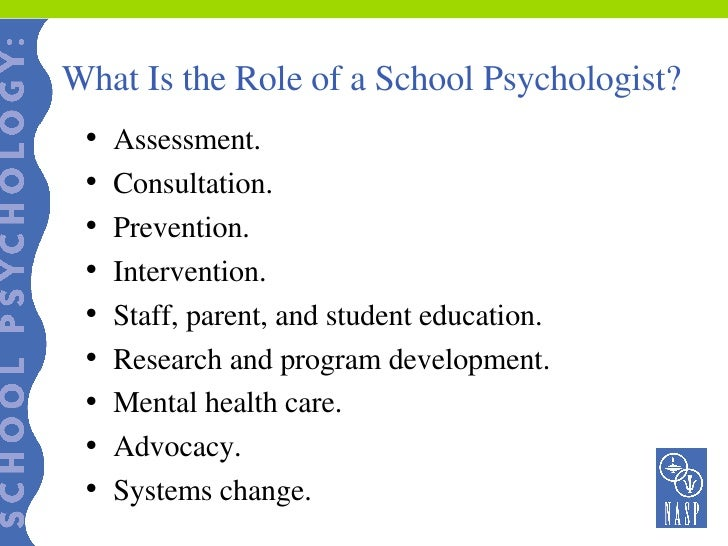 school psychologist job description