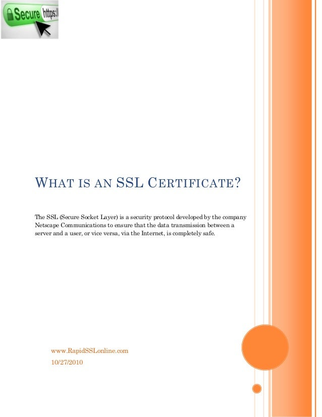 What Is Cheap Ssl Certificates Rapidsslonline