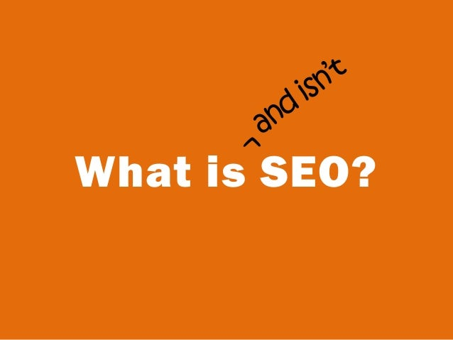 What is SEO?^