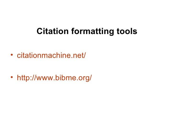 FKCC Library APA Format Tips
