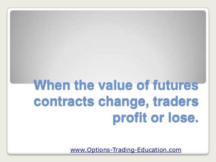 What is trading options contracts