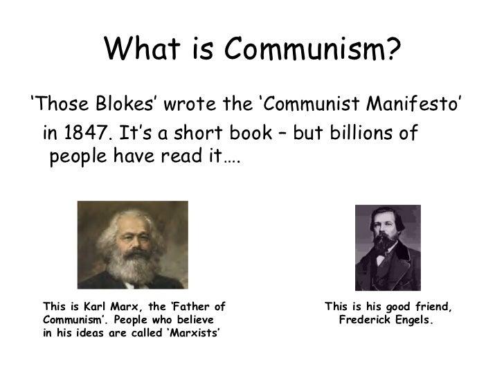 Understanding communism