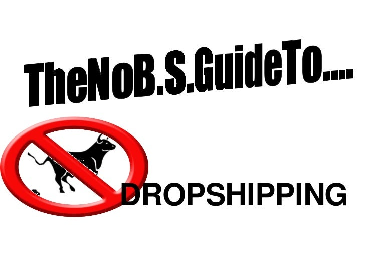 The  No  B.S.  Guide To.... DROPSHIPPING