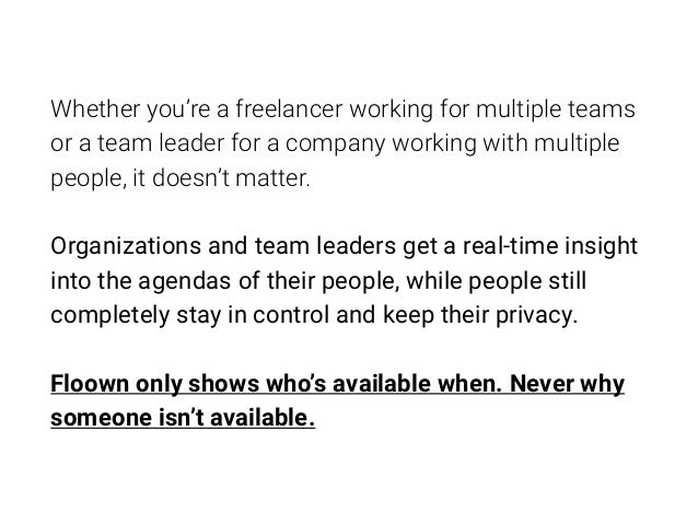 Whether you're a freelancer working for multiple teams or a team leader for a company working with multiple people, it doe...