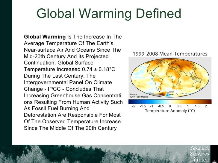what is global warming 2 essay