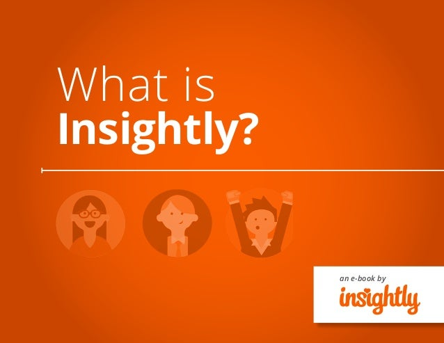 an e-book by What is Insightly?