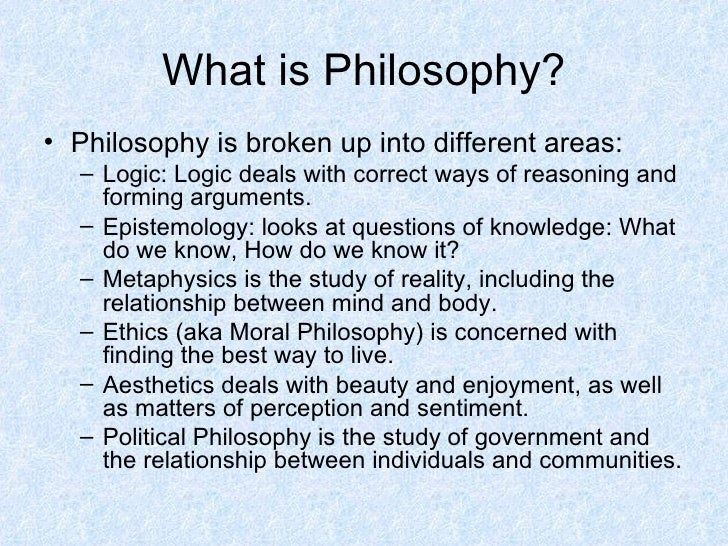 relationship between ethics and logic