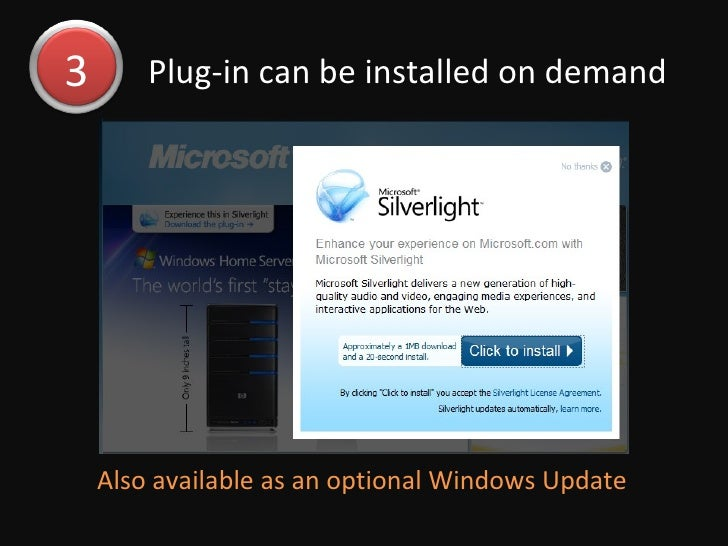 What Is Silverlight Slide 3