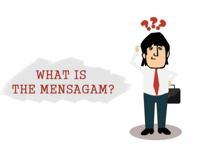 ? The MenSagam is a real-time, structured query language (SQL)- based, data connection service provider. If you think abou...