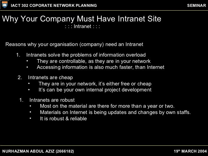 what is the difference between intranet Ie 8: local intranet vs trusted sites windows 7 it pro windows 7 miscellaneous local intranet: the level of security set for the local intranet zone is applied to websites and content that is stored on a corporate or business network.