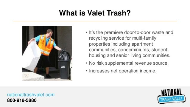 What is Valet Trash and How Does it Work? Slide 3