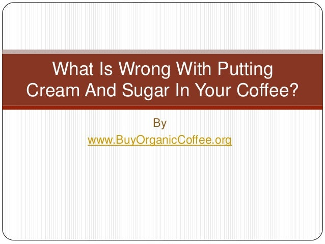 What is wrong with sugar