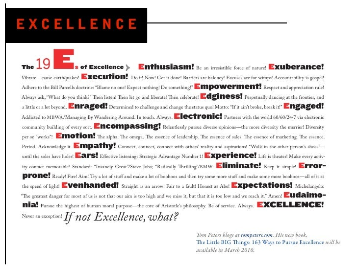 EXCELLENCE                                                                                            Be an irresistible f...