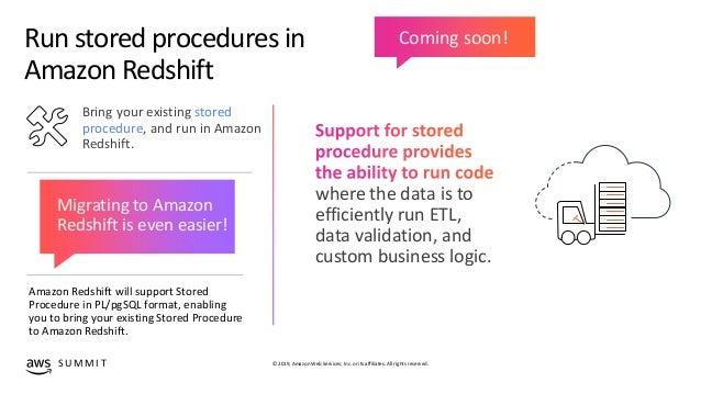 What's New with Amazon Redshift - ADB202 - Anaheim AWS Summit
