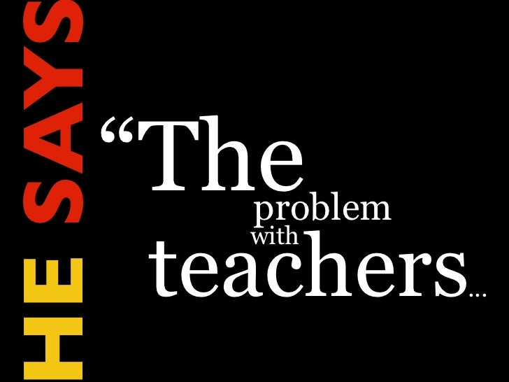 What Teachers Make Slide 2
