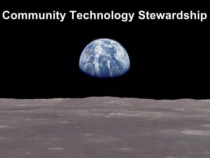 Community Technology Stewardship