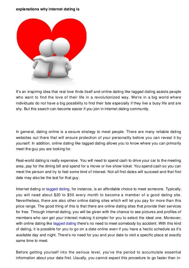 What to expect online dating
