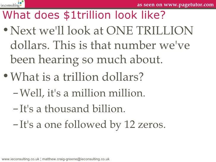 100+ Million Billion Trillion Gazillion Dollars – yasminroohi