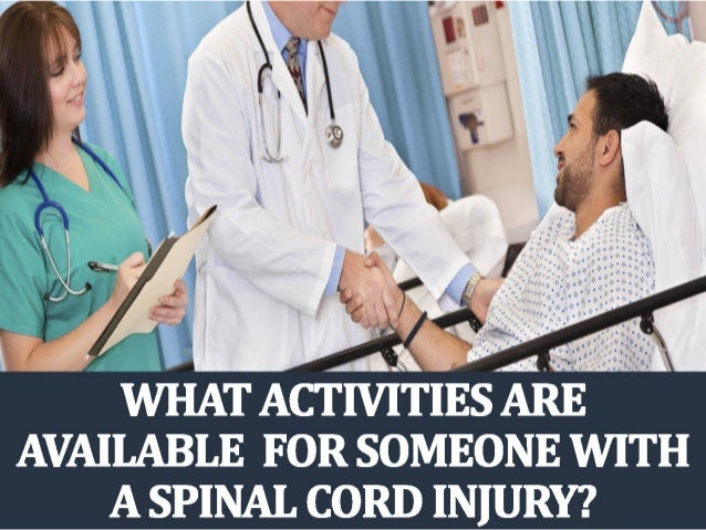 dating someone with a spinal cord injury
